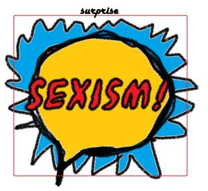 sexism surprise