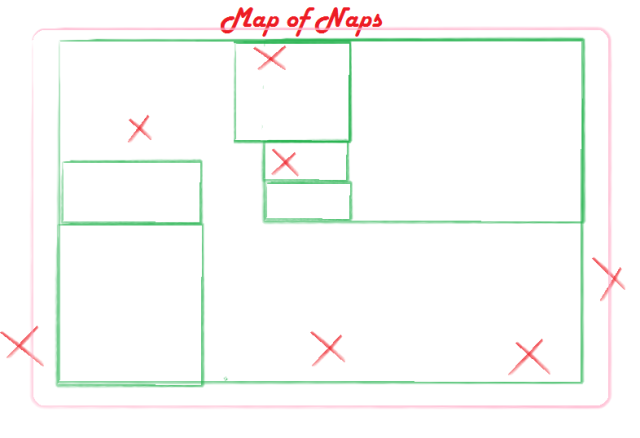 map of naps